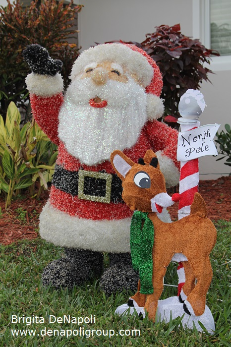 Santa Claus & Reindeer-Decorations