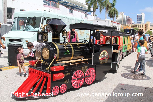 Catabella Express Train at 3rd Annual Riverwalk Fall Festival, Fort Lauderdale, FL