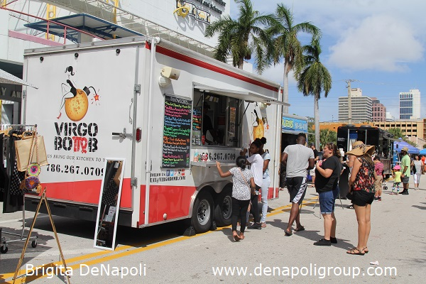 Food Trucks at 3rd Annual Riverwalk Fall Festival, Fort Lauderdale, FL